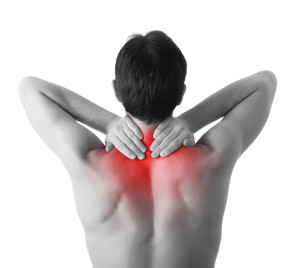 Neck Pain caused by spine